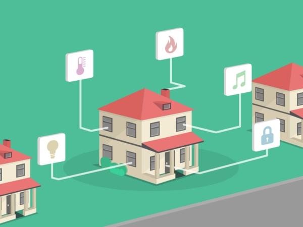 système domotique maison intelligente