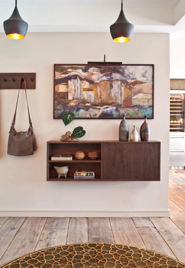 tendance déco 2020 hall d'entrée mobilier compact et fonctionnel