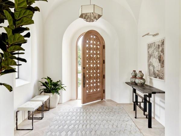 tendance déco 2020 hall d'entrée style minimaliste