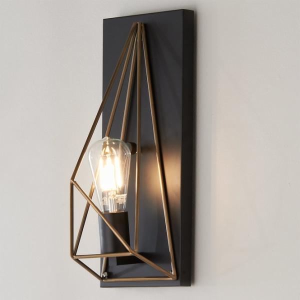 éclairage et lampes pour la maison forme géométrique