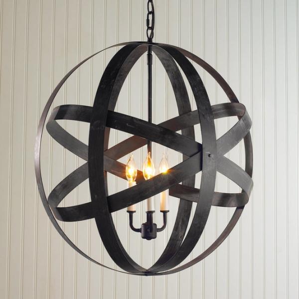 éclairage et lampes pour la maison style rustique