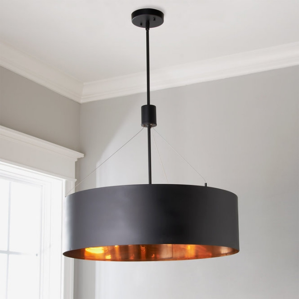 éclairage et lampes pour la maison suspension en métal