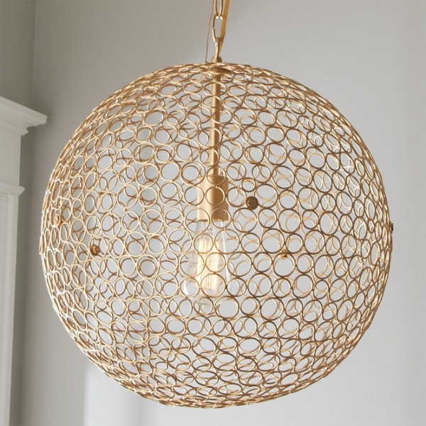 éclairage et lampes pour la maison une grande sphère