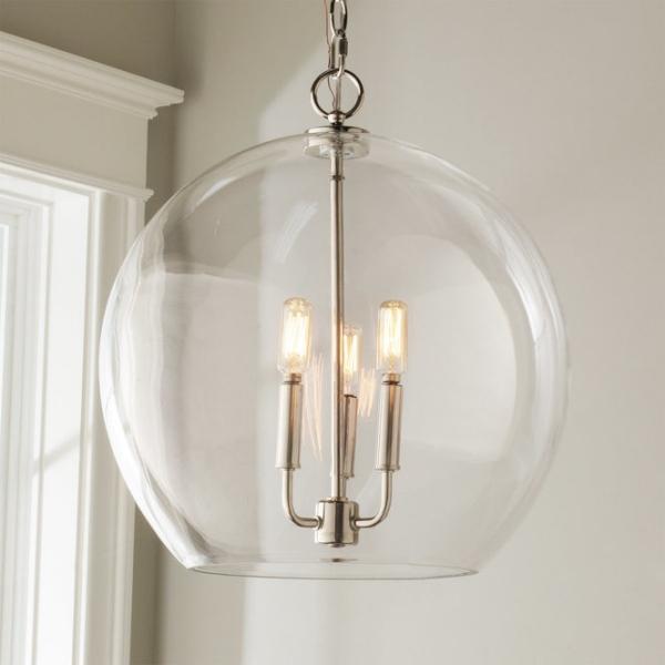 éclairage et lampes pour la maison une sphère en verre