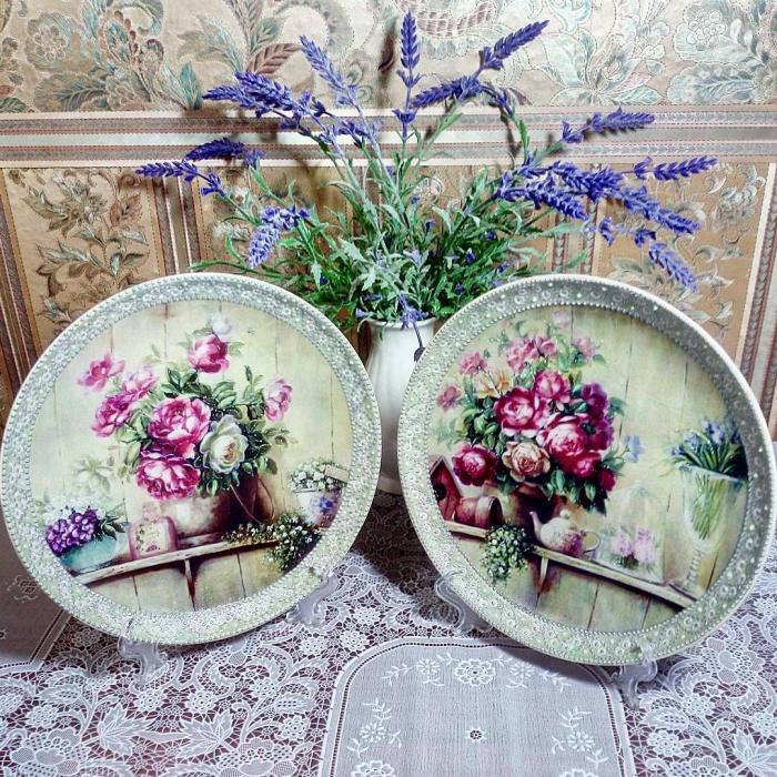 activité découpage de Pâques un bouquet de lavande