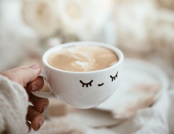 boire votre café télétravail