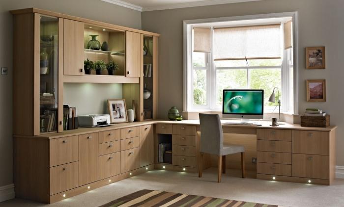bureau à domicile grande bibliothèque