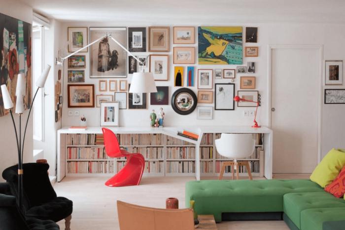 bureau à domicile idée moderne