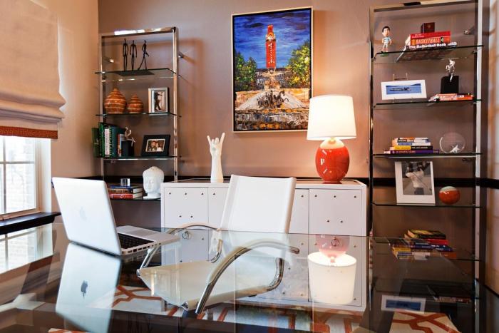 bureau à domicile mobilier contemporain