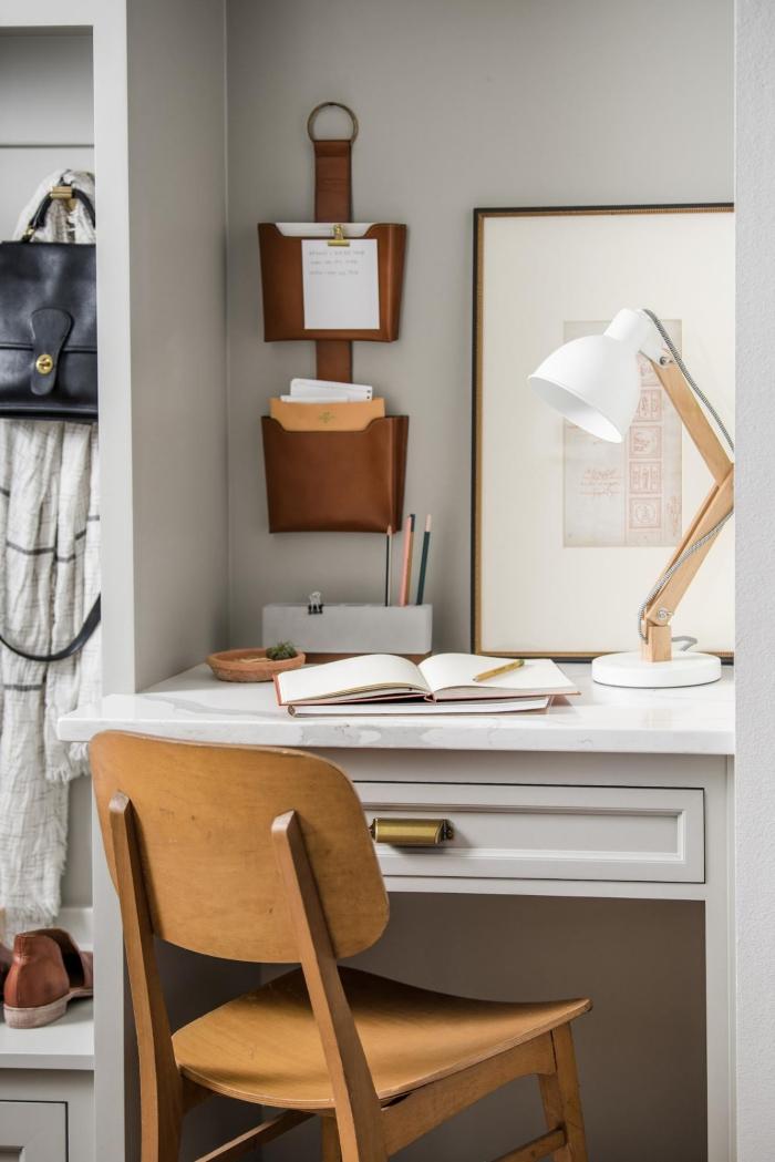 bureau à domicile pour petit espace