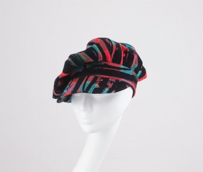 casquette gavroche femme modèle multicolore