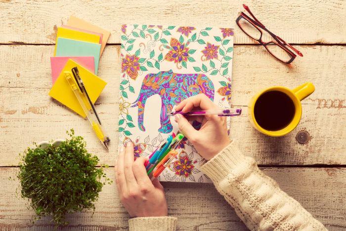 coloriage mandala idées confinement