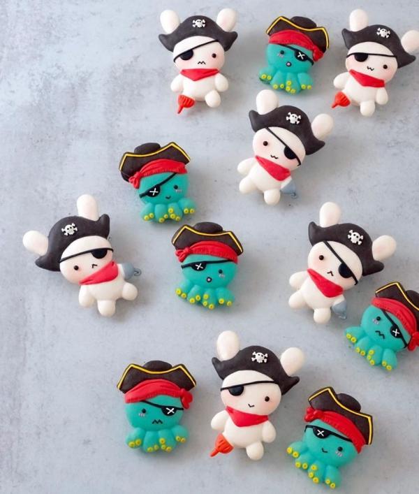 comment faire des macarons armée de pirates