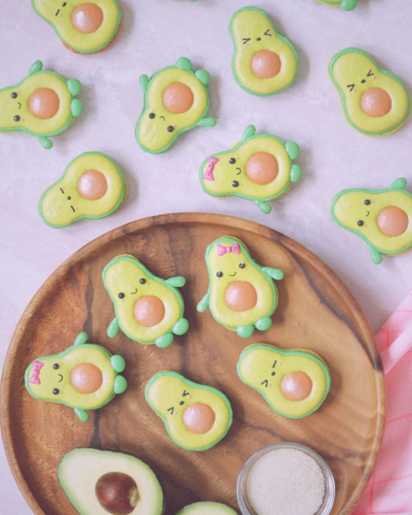 comment faire des macarons avocados délicieux