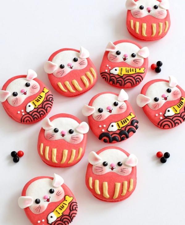 comment faire des macarons chats aux joues roses