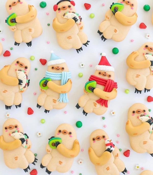 comment faire des macarons fêter Noël