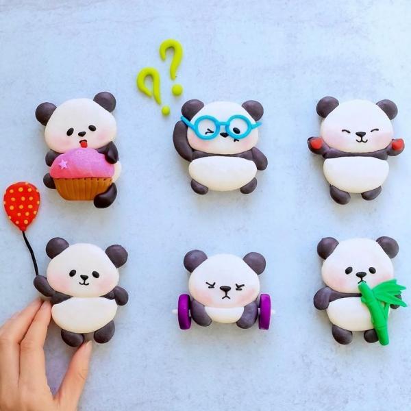 comment faire des macarons frimousses de pandas