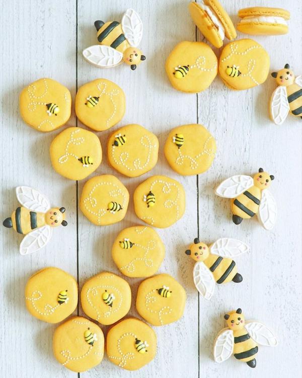 comment faire des macarons la petite abeille