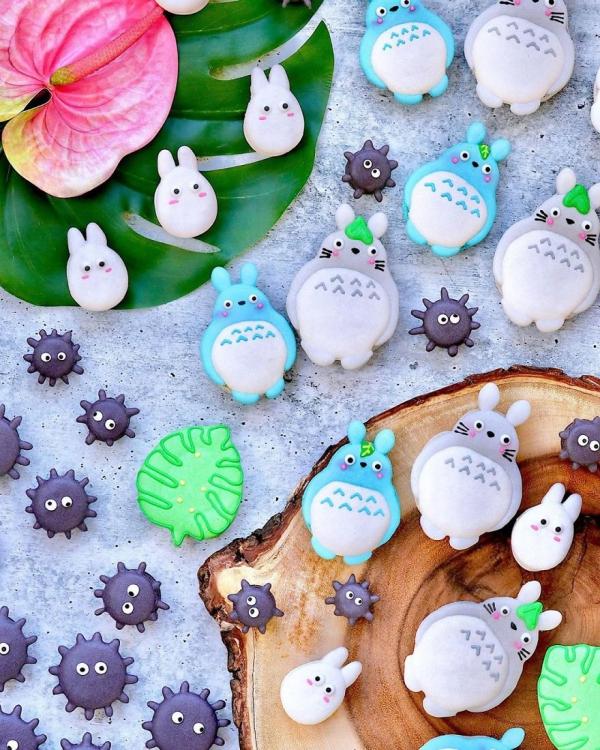 comment faire des macarons lapins de Pâques