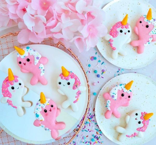 comment faire des macarons unicornes souriants