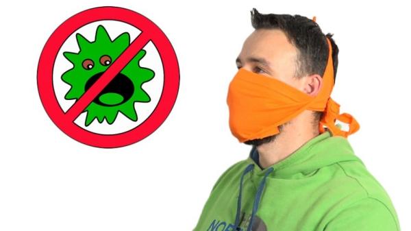 confectionner un masque anti-coronavirus à partir d'un T-shirt sans couture
