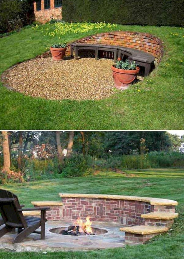 construire un mur de soutènement jardin en briques