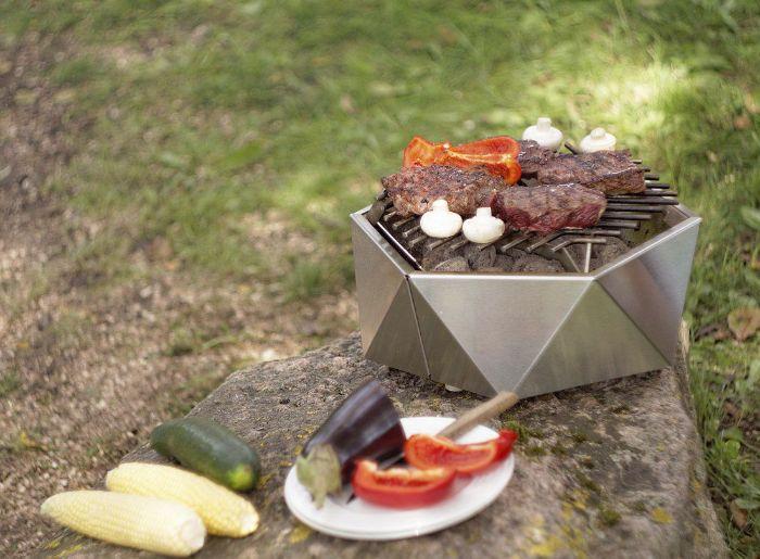 cuisine d'été extérieur barbecue portable