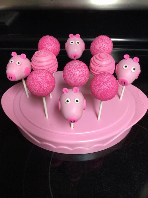 déco anniversaire peppa pig desserts thématiques