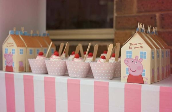 déco anniversaire peppa pig idée de desserts