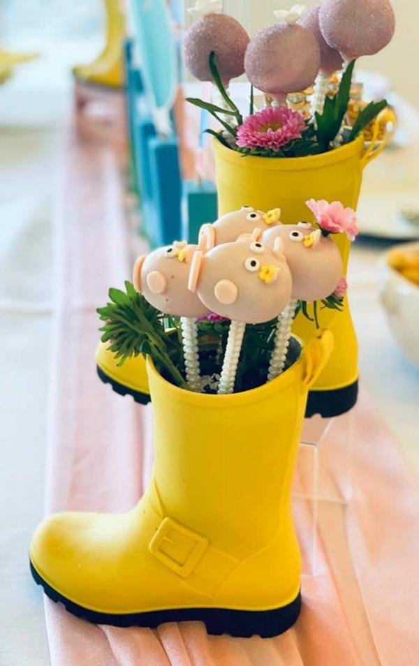 déco anniversaire peppa pig jouets thématiques
