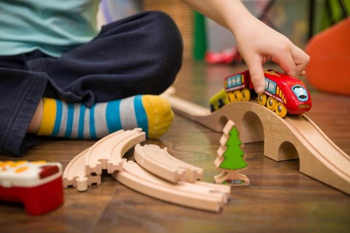 désinfecter des jouets propres