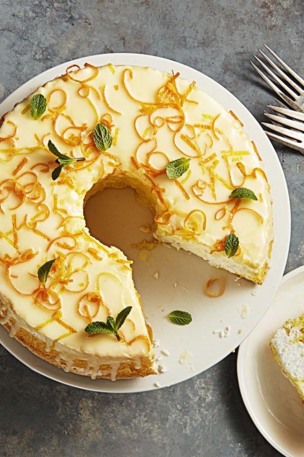 dessert de Pâques un gâteau aromatisé