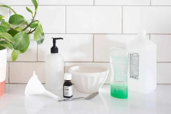 diy désinfectant pour les mains ingrédients