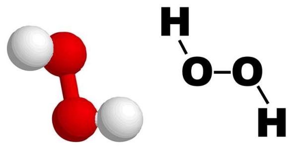 diy nettoyant multi-usage maison avec du péroxyde d'hydrogène