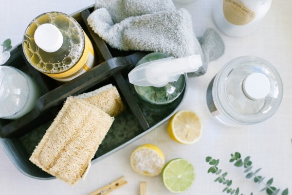 diy nettoyant multu-usage maison savon de castille jus de citron alcool