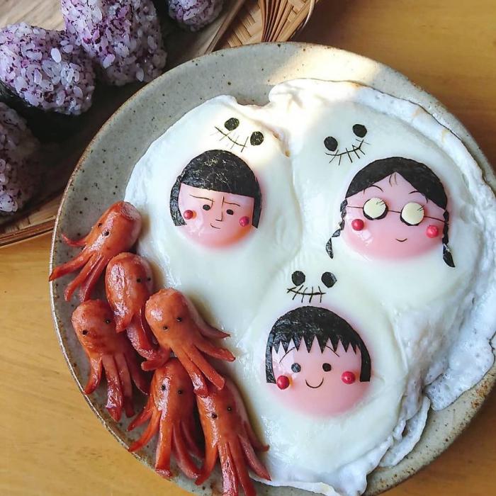 faire cuire des oeufs boules de riz cuit