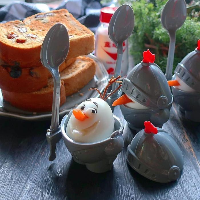 faire cuire des oeufs nez de carottes