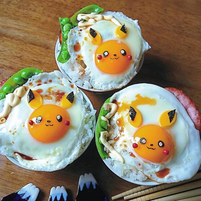 faire cuire des oeufs petits pois et lapins