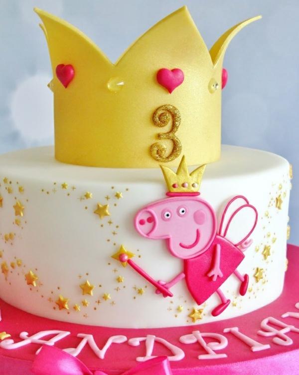gâteau peppa pig pour anniversaire fille