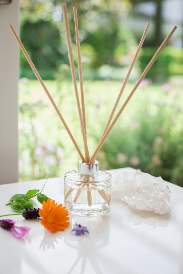 idée de recette diffuseur de parfum bâtonnet