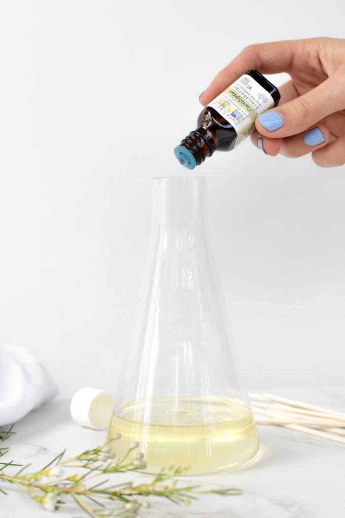 idée de recette facile diffuseur de parfum bâtonnet