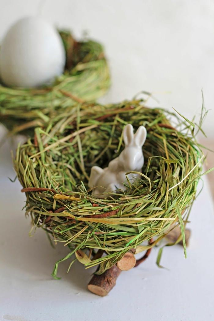 idée inspirante de nid de pâques diy