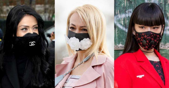 idées célébrités masque de protection design