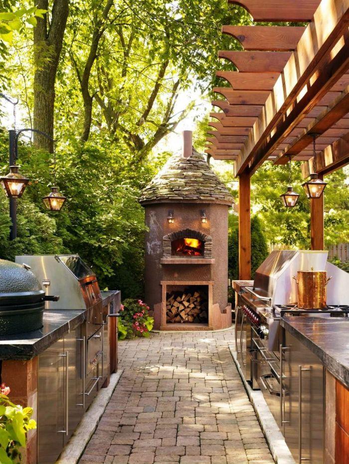 idées cuisine d'été extérieur bbq