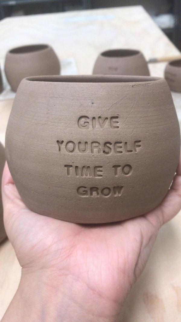 la céramique du temps pour grandir