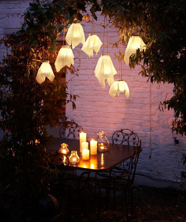 lanterne extérieur à poser grande taille bocaux et pichets en verre