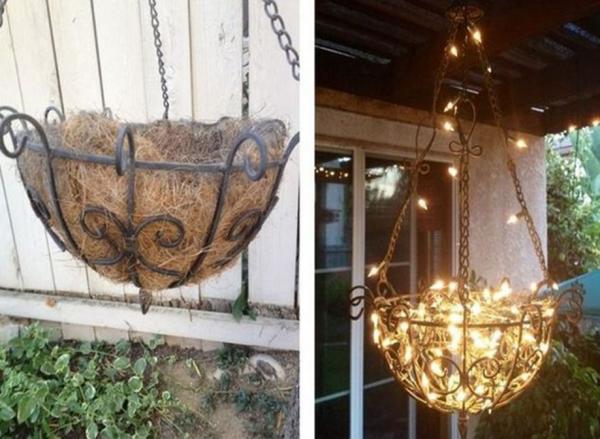 lanterne extérieur à poser grande taille joli chandelier