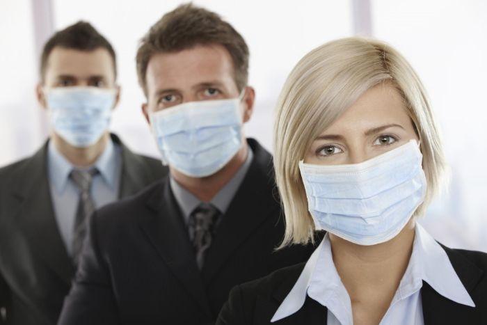 masque de protection à porter pour travailler ou voyager