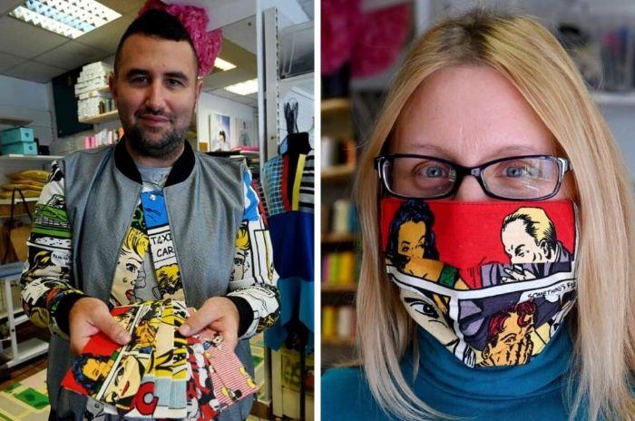 masque de protection designer croate