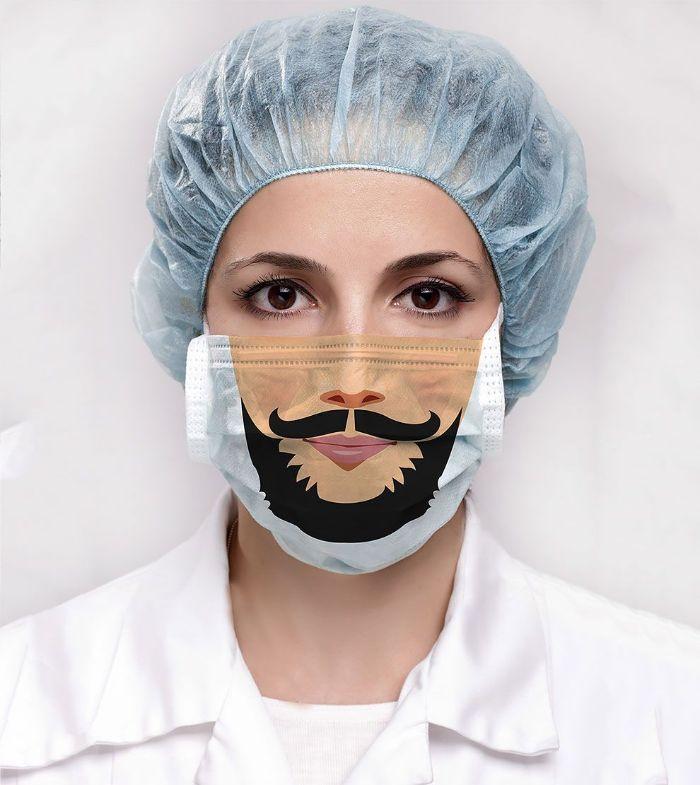 masque de protection look unique